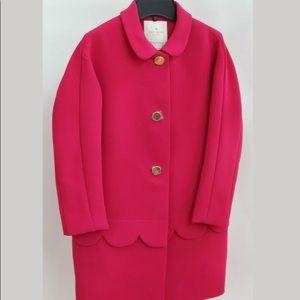 ♠️♠️Kate Spade Talia Scalloped Detail coat 🧥♠️♠️